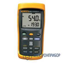 Двухканальный цифровой термометр с регистрацией измерений Fluke 54 II