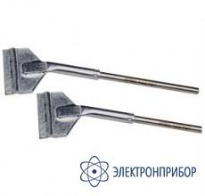 Насадки плоские (пара) к термопинцету, ширина 25мм (soic40) 452FDLF250 (422FD7)