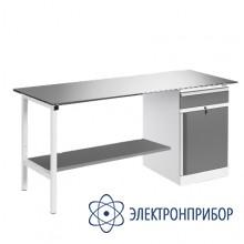 Верстак, оснащенный тумбой ВР-15+ТМБ-02/№4