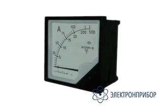 Амперметр щитовой аналоговый переменного тока с расширенным диапазоном измерений ЭА2258М-10 кл.1,5