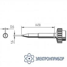 Клин 1,6мм, толщина 0,6мм (к techtool) 612AD-LF