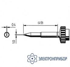 Клин 1,0мм, толщина 0,4мм (к techtool) 612CD-LF
