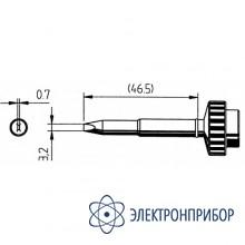 Клин 3,2мм, толщина 0,7мм (к techtool) 612ED-LF