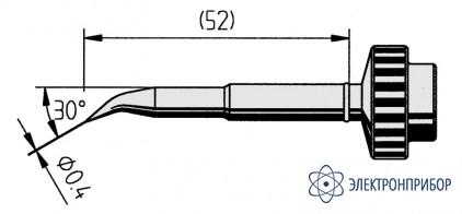 Изогнутый конус 0,4мм (к techtool) 612ID