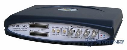 Usb генератор сигналов произвольной формы (настольное исполнение, память 2 мб) АКИП-3405 (2 M)