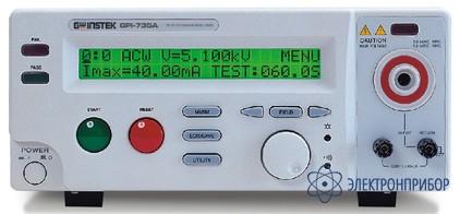 Измеритель параметров безопасности электрооборудования GPI-735A
