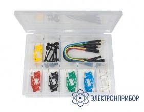 Комплект микрозажимов с проводами в пластиковом кейсе 6800-12