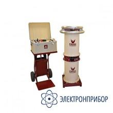 Мобильная установка для испытания изоляции переменным напряжением  до 200кв, 50гц, мощность 10ква 6CP200/100-10