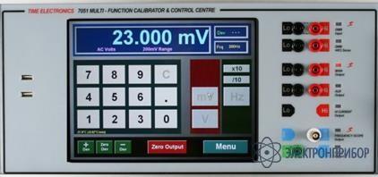 Многофункциональный калибратор и центр управления TE7051