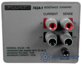 Стандарт сопротивления 1 ом Fluke 742A-1