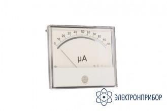 Прибор щитовой аналоговый постоянного тока M2027-М1 кл.1,0