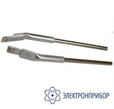 Насадки плоские (пара) к термопинцету, ширина 4мм (для чип-компонентов) 452FDLF040 (422FD10)