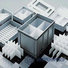 Антистатические разделители для плоскодонных контейнеров rako 80-990-1 EL