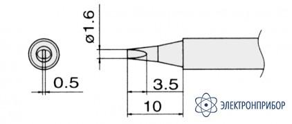 Сменные композитные паяльные головки для паяльников с подачей азота T13-D16