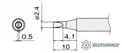 Сменные композитные паяльные головки для паяльников с подачей азота T13-D24