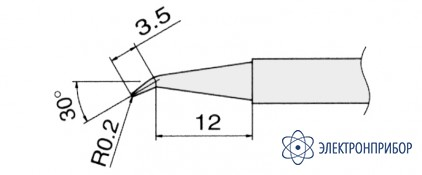 Сменные композитные паяльные головки для паяльников с подачей азота T13-J02