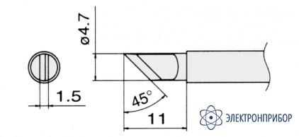 Сменные композитные паяльные головки для паяльников с подачей азота T13-KR