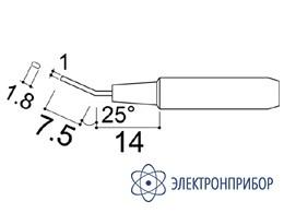 Паяльная сменная головка для паяльников hakko 907/907esd HAKKO 900M-T-1.8H