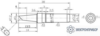 Наконечник 919M-T-3BCY