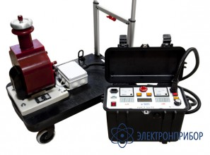Аппарат для испытания диэлектриков с сухим трансформатором АИСТ 50М