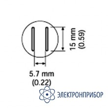 Cменная головка для fr-803b, 5,6х13 A1132