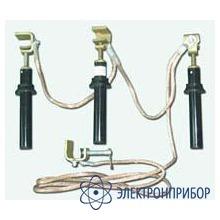 Заземление переносное для распределительных устройств ЗПП-Техношанс-1-01 (испол. 5(70)