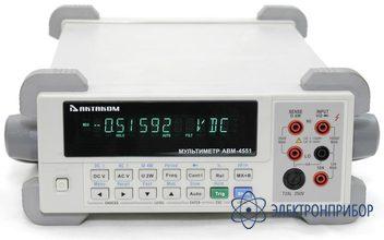 Настольный мультиметр АВМ-4551