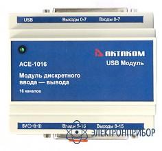 Модуль дискретного ввода-вывода АСЕ-1016