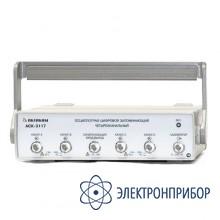 4-х канальный осциллограф - приставка к пк АСК-3117