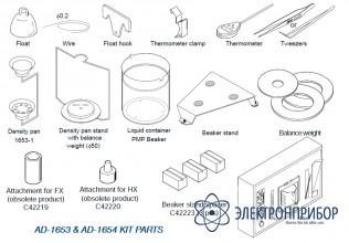 Комплект для определения плотности AD-1653