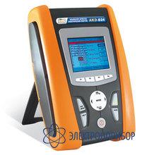 Микропроцессорный регистратор - анализатор качества электроэнергии АКЭ-824