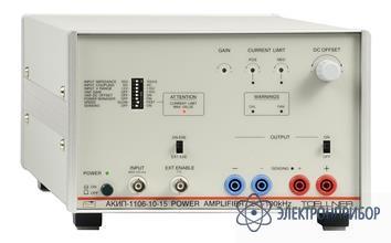 Источник-усилитель напряжения и тока АКИП-1106-10-15