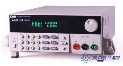 Источник питания постоянного тока программируемый АКИП-1120