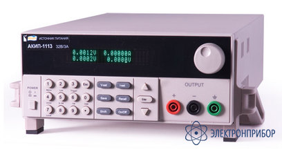 Источник питания постоянного тока программируемый АКИП-1121