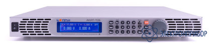Лабораторный импульсный программируемый источник питания постоянного тока + gpib, lan АКИП-1126 (GL)