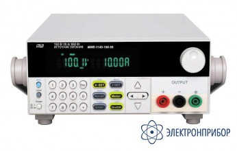Программируемый импульсный источник питания постоянного тока АКИП-1143-300-10