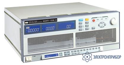 Программируемая электронная нагрузка постоянного тока АКИП-1308