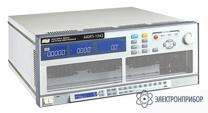 Программируемая электронная нагрузка постоянного тока АКИП-1342