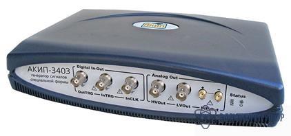 Usb генератор сигналов произвольной формы (вариант для монтажа в 19 АКИП-3403/1 (4 M)