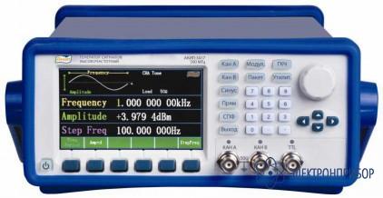 Генератор сигналов специальной формы АКИП-3417