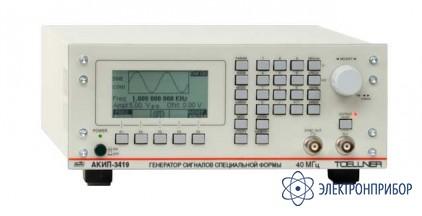 Генератор сигналов специальной формы АКИП-3419