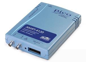 Цифровой запоминающий usb-осциллограф смешанных сигналов АКИП-4120/2