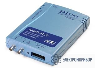 Цифровой запоминающий usb-осциллограф смешанных сигналов АКИП-4120