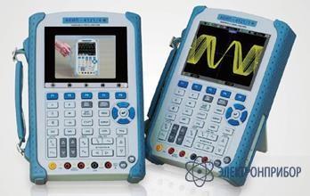 Портативный осциллограф-мультиметр с изолированными входами АКИП-4121/1
