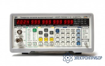 Генератор сигналов вч АКИП-7SG382