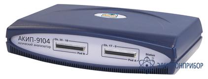 Логический анализатор на базе пк (usb) АКИП-9104 (1М)