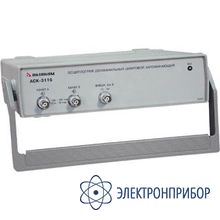 2-х канальный осциллограф - приставка к пк АСК-3116