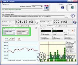 Программное обеспечение для мультиметра aktakom am-1109 DMM АМ-1109 SW