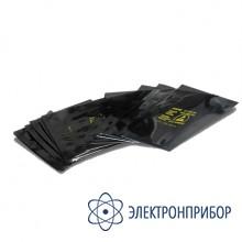 Блестящий непрозрачный металлизированный пакет 90 микрон SD 254x508