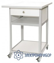 Cтол подкатной с ящиком с антистатической столешницей АРМ-5054-9-ESD